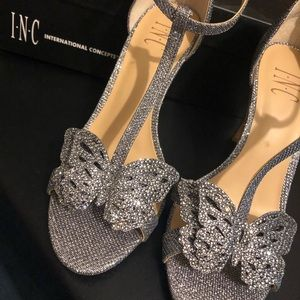 INC Rissaa Embellished Butterfly Heels